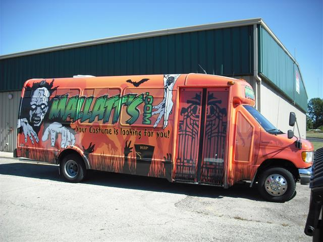 Mallatts Costumes Promo Vehicle
